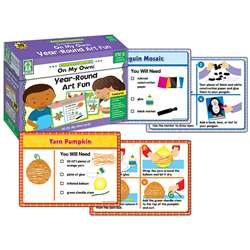 Shop On My Own Gr Pk-2 Year Round Art Fun Centersolutions - Ke-840025 By Carson Dellosa