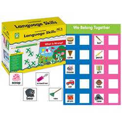 Shop Gr Pk-2 Language Skills Centersolutions - Ke-840026 By Carson Dellosa