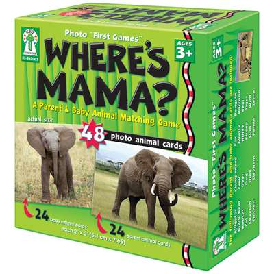 Wheres Mama Game By Carson Dellosa