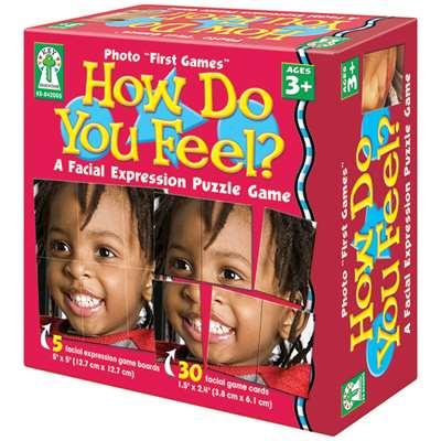 How Do You Feel Game By Carson Dellosa