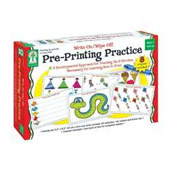 Write On/Wipe Off Pre-Printing Practice By Carson Dellosa