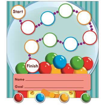 Gum Ball Machine Mini Incentive Charts By Carson Dellosa