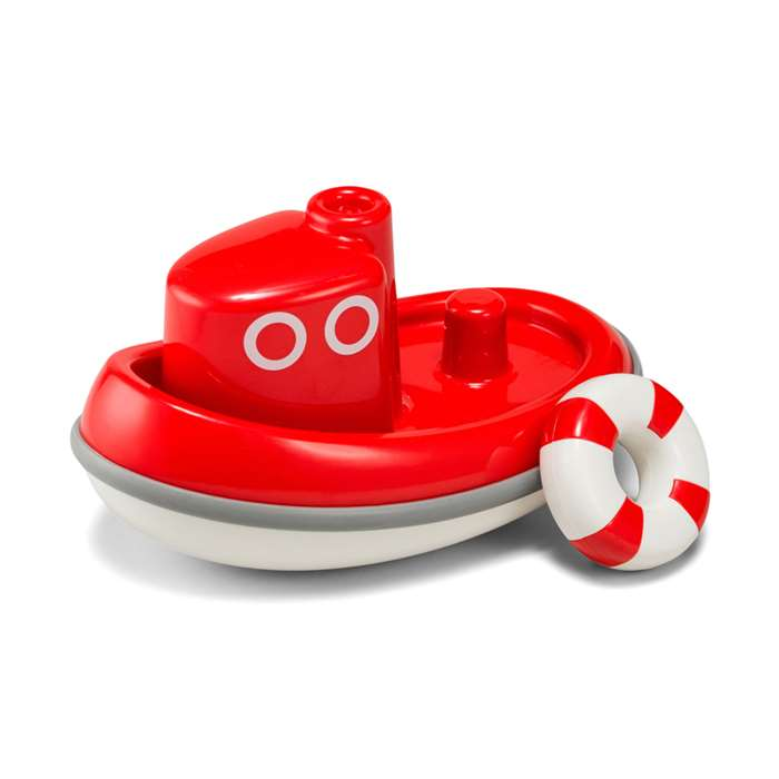 Tug Boat Red By Kid O Products