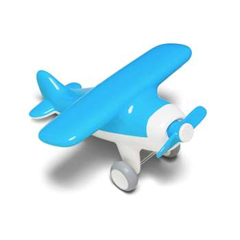 Air Plane Sky Blue By Kid O Products