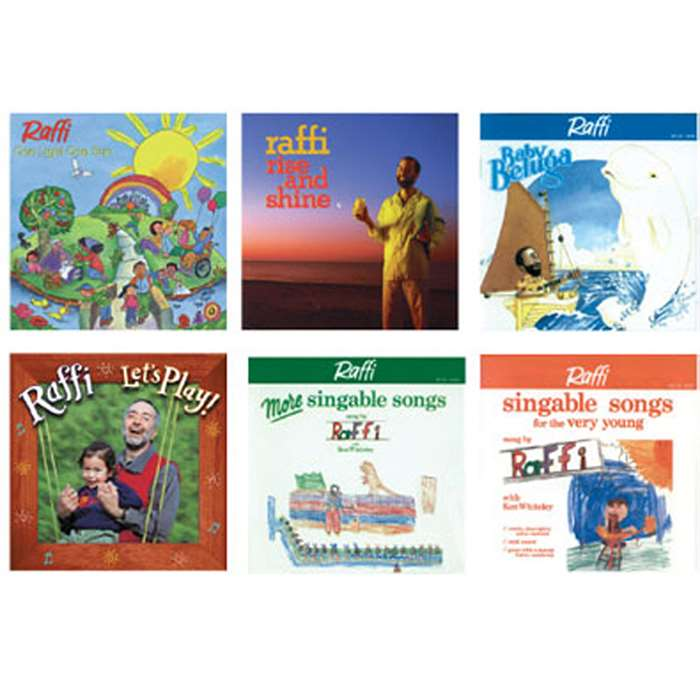 The Best Of Raffi Cd Collection By Kimbo Educational