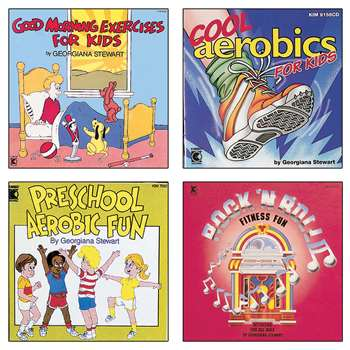 Movement And Exercise Cd Collection By Kimbo Educational