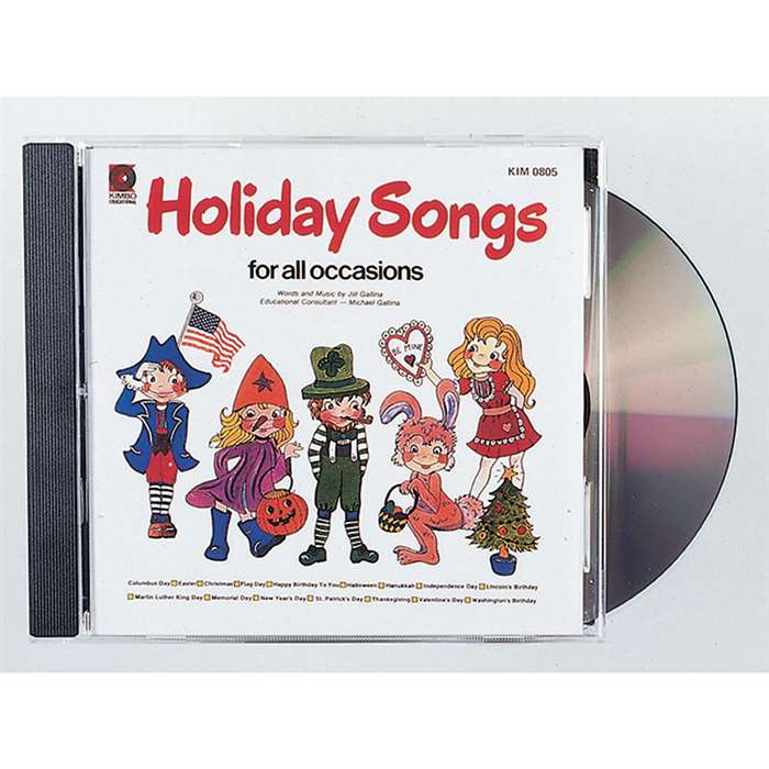 Holiday Songs For All Cd Holiday Songs For All Cd By Kimbo Educational