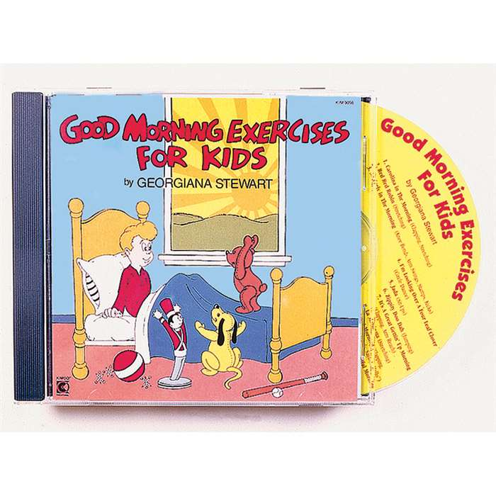 Good Morning Exercises Cd Ages 3-8 By Kimbo Educational
