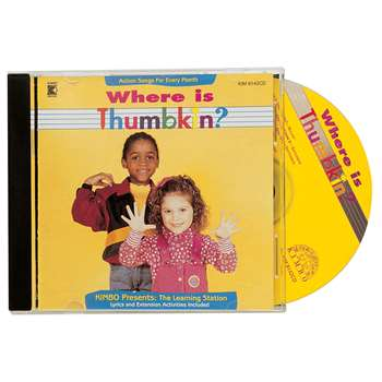 Where Is Thumbkin Cd By Kimbo Educational