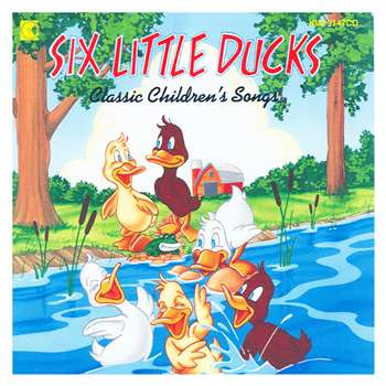 Six Little Ducks Cd By Kimbo Educational