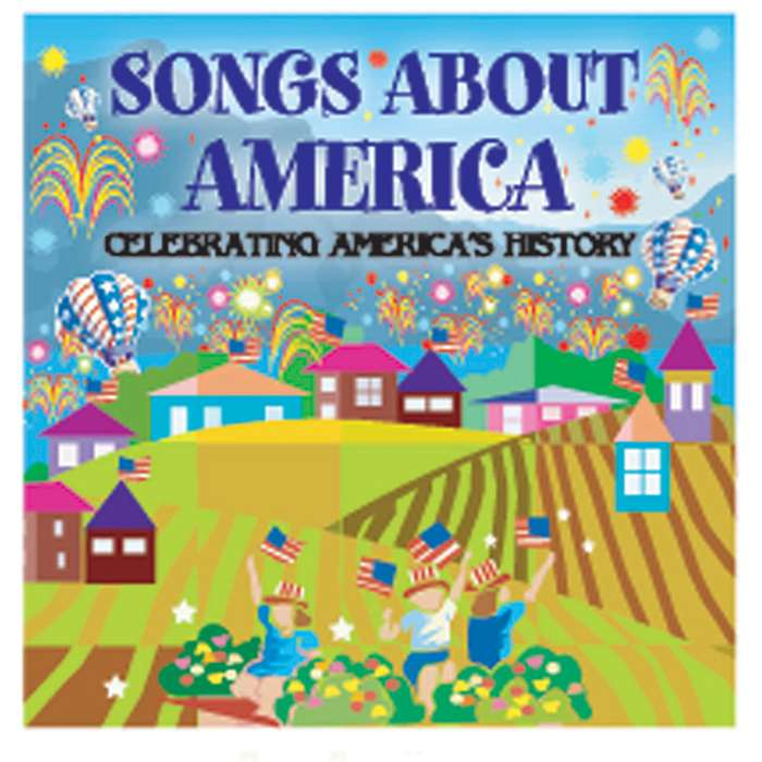 Songs About America Celebrating Americas History By Kimbo Educational