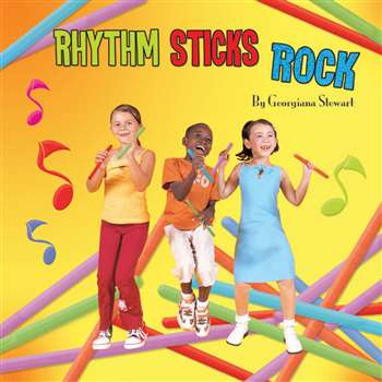 Rhythm Sticks Rock Cd By Kimbo Educational