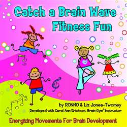 Catch A Brain Wave Fitness Fun Cd By Kimbo Educational