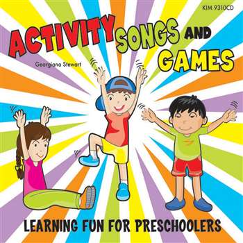 Activity Songs & Games By Kimbo Educational
