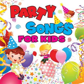 Party Songs For Kids Cd By Kimbo Educational