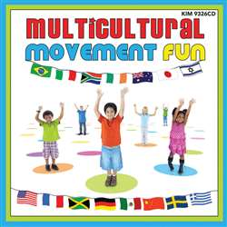 Multicultural Movement Fun Cd, KIM9326CD