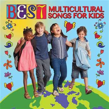 Best Multicultural Songs For Kids Cd, KIM9328CD