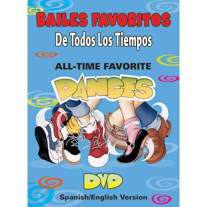 All Time Favorite Dances Spanish Dl0504 By Kimbo Educational