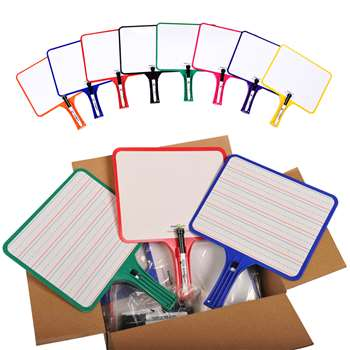 Rectangular Paddles Double Sided 32 Blank Handwriting By Kleenslate Concepts
