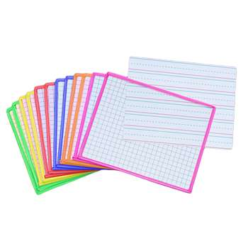 Shop Kleenslate Dry Erase Board 12Pk Sys Dry Erase Sleeves 2 Side Templates - Kls9164 By Kleenslate Concepts