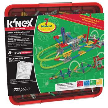 Knex Wheels & Axles And Inclined Planes By K'Nex