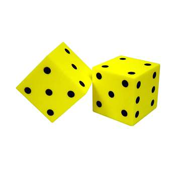 Foam Dice 2 Dot Set Of 2 By Koplow Games