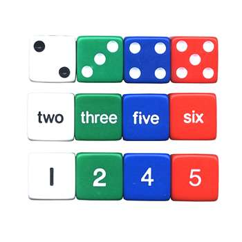 Number Dice Set By Koplow Games