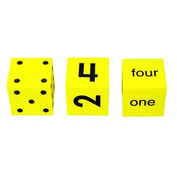 Spot Word Number Dice Set Of 3 By Koplow Games