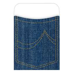 Pick-A-Pocket Library Pockets Denim By Barker Creek Lasting Lessons