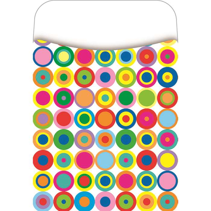 Pick-A-Pocket Library Pockets Disco Dots By Barker Creek Lasting Lessons