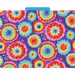 Functional File Folders Tie-Dye By Barker Creek Lasting Lessons