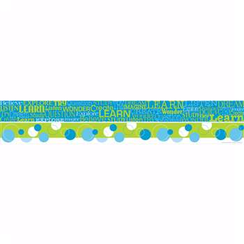 Word Wall Learn Double Sided Border By Barker Creek Lasting Lessons