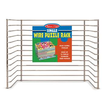 Single Wire Puzzle Rack By Melissa & Doug
