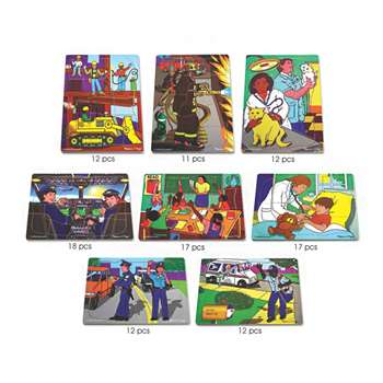 Puzzle Set Multi-Ethnic Careers By Melissa & Doug