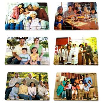 Realistic Multigenerational Multicultural Family Puzzle Set By Melissa & Doug