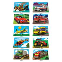Puzzle Set Favorite Vehicles By Melissa & Doug
