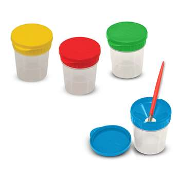 Spill-Proof Paint Cups, Set Of 4 By Melissa & Doug
