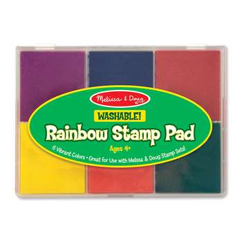 Rainbow Stamp Pad By Melissa & Doug