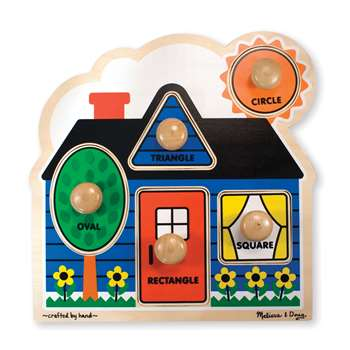 First Shapes Jumbo Knob Puzzle By Melissa & Doug