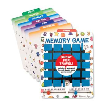 Flip To Win Memory Game By Melissa & Doug