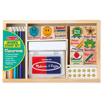 Classroom Stamp Set By Melissa & Doug