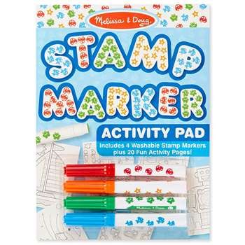 Stamp Marker Activity Pad Blue By Melissa & Doug