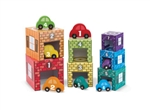 Nesting & Sorting Garages & Cars By Melissa & Doug