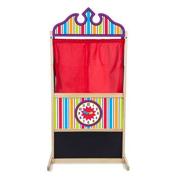 Deluxe Puppet Theater By Melissa & Doug