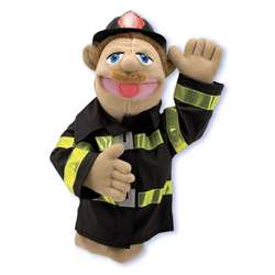 Firefighter Puppet By Melissa & Doug