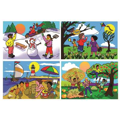Seasons Floor Puzzle By Melissa & Doug