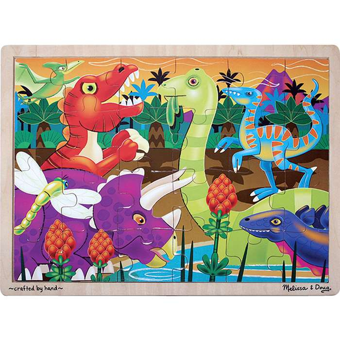 Prehistoric Sunset Puzzle By Melissa & Doug