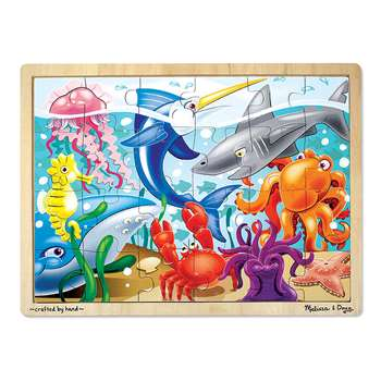 Under The Sea Puzzle By Melissa & Doug