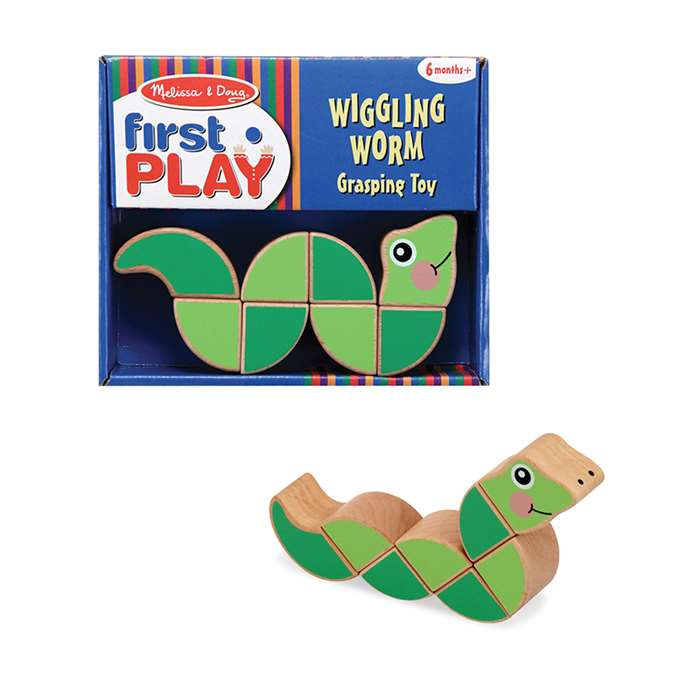 Wiggling Worm Grasping Toy, LCI3031