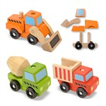 Stacking Construction Vehicles By Melissa & Doug